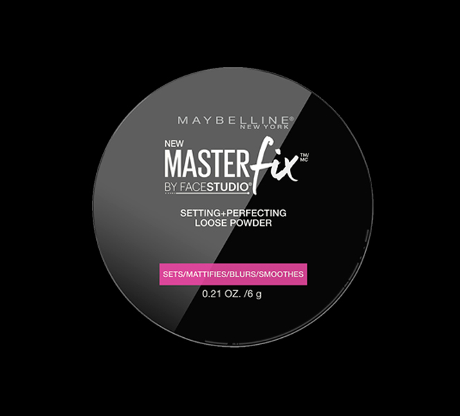 master fix settings and loose powder